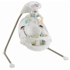 Fisher-Price My Little Lamb Platinum Edition Cradle 'n Swing_13039765_01